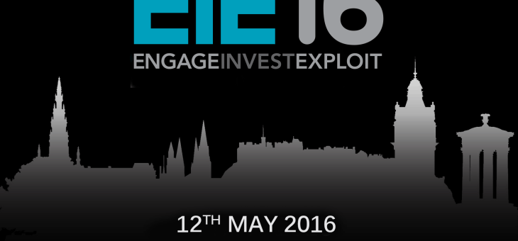 EIE16- 12th May 2016 – Assembly Rooms, Edinburgh