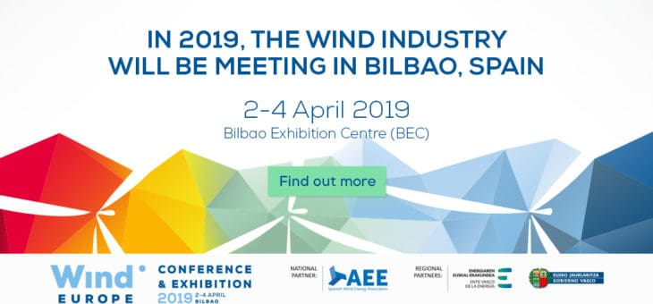 WindEurope Conference & Exhibition: 2-4 April, Bilbao