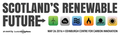 Scotland's Renewable Future -26th May 2016 – the Edinburgh Centre for Carbon Innovation