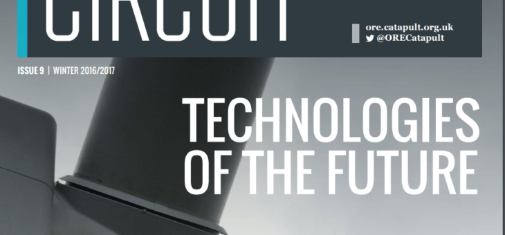 ACT Blade story featured in Circuit magazine – ORE Catapult