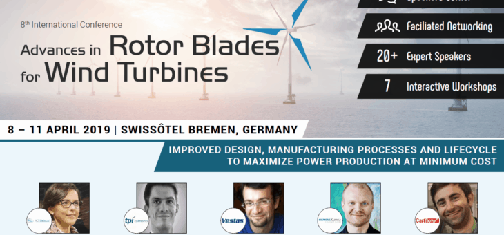 Meet us at the Advances in Rotor Blades for Wind Turbines Conference in Bremen