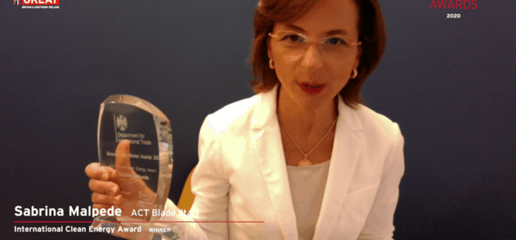 International Clean Energy Award