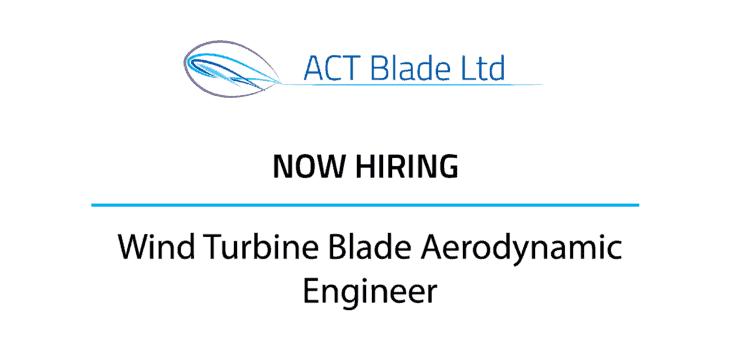 Wind Turbine Blade Aerodynamic Engineer